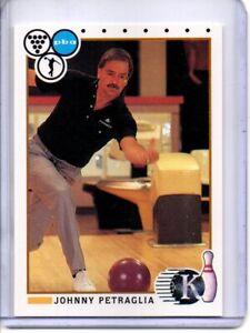 1990 PBA BOWLING CARD #89 JOHNNY PETRAGLIA (HALL OF FAMER)