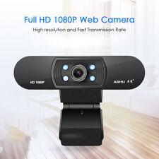 ASHU USB 2.0 Web Digital Camera Full HD 2.0 Megapixel 1080P Webcams with Mic