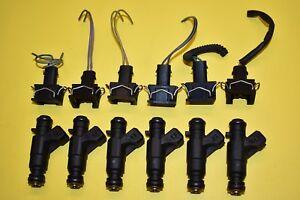 98 99 00 Mercedes-Benz E320 Fuel Injectors SET 3.2L V6 OEM