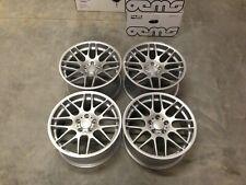"19"" CSL Style Alloy Wheels Quartz Silver BMW DEEP CONCAVE E46 M3 E90 F10 E92 Z4M"