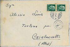 ITALIA REGNO:  storia postale - BUSTA : REALE NAVE LIBECCIO affondata nov. 1941