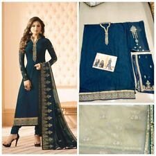 Indian Pakistani Designer Bollywood Salwar Kameez Suit Wedding Party Wear KB