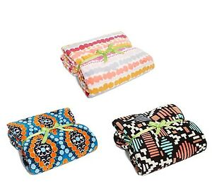 NWT Authentic Vera Bradley XL Throw Blanket