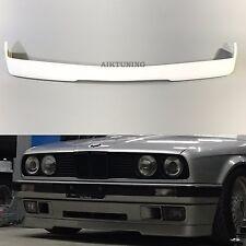 BMW E30 Full Front Bumper IS Splitter Apron Valane Addon Tuning Spoiler Lip