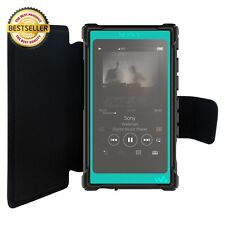 inorlo PU Leather Flip Case Cover for Sony Walkman NW-A35, NW-A45 MP3 Player, wi