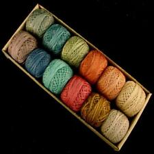 Valdani Perle Cotton Size 8 Embroidery Thread Bigsby Light Sampler Set