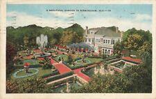 Postcard Garden in Birmingham Alabama