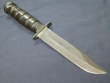 US Camillus Mk2 Fighting Knife Bowie USMC Kabar type