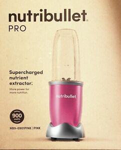 NutriBullet PRO Blender with Nutrient Extractor PINK, 900 watts, New In Box!