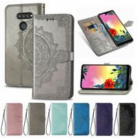 Leather Stand Wallet Flip Phone Cover Case For LG Velvet K50S K51 K20 Q60 Stylo5