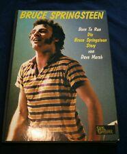 Bruce Springsteen Born to run Dave Marsh 1983 Star Cluster