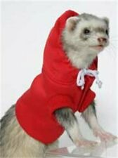 MARSHALL PET FERRET SPORT RED HOODIE SWEATSHIRT HOODED. FREE SHIPPING TO USA