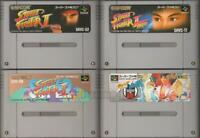 STREET FIGHTER II TURBO ZERO 2 SUPER SET SNES SUPER FAMICOM NINTENDO JAPAN