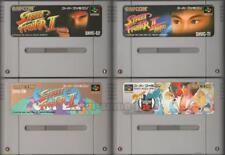 """ STREET FIGHTER II TURBO ZERO 2 SUPER "" SET SNES SUPER FAMICOM NINTENDO JAPAN"