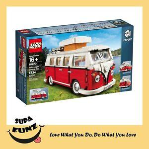 LEGO reator 10220 Volkswagen T1 Camper Van - BRAND NEW IN BOX