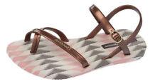 Sandali e scarpe beigi per il mare da donna mare piatto ( meno di 1,3 cm )