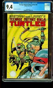 Teenage Mutant Ninja Turtles #26 - Mirage 1989 CGC 9.4 NM TMNT