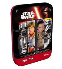 Topps Star Wars Erwachen der Macht Mini Tin Box + Limitierte Auflage Awakens OVP