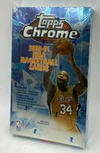 2000-01 Topps Chrome Basketball Factory Sealed Unopened Hobby Box