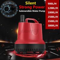 900-3800L/H 220-240V Submersible Water Pump Aquarium Fish Pond Tank Spout  @