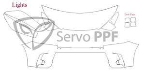 17-19 Toyota Highlander Glossy Clear Bra Full Kit Ventureshield Ultra by 3M