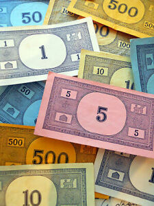 Monopoly Money - Any amount from $1 to $10,000 in Random or Custom Denomination