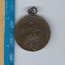 AN-082 Metropolitan Association A.A.U. New York, 1940s Swimming Medal 100 yd FS