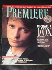 PREMIERE magazine 1989, Michael J. Fox, Paul Newman, Jane Fonda, Little Mermaid