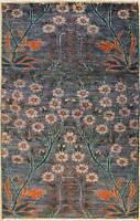 Rugstc 3x5 Senneh Chobi Ziegler Grey Area Rug,Natural dye, Hand-Knotted,Wool