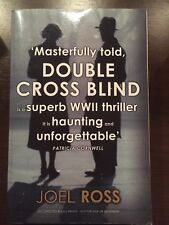 DOUBLE CROSS BLIND by JOEL ROSS - HODDER & STOUGHTON-P/B-UK POST £3.25*PROOF*