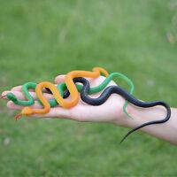 Soft Lifelike Rubber Snake Garden Props Pretend Toys Joke Halloween Prank Trick