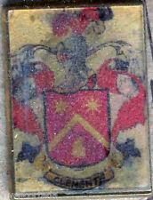 Heraldry PIN metallic del last name : CLEMENT