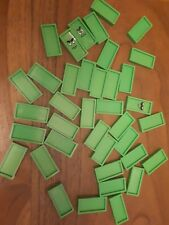 domino express x treme replacement spare green pieces w147
