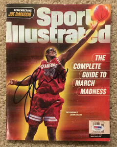 JASON COLLINS Signed Autograph 1999 Sports Illustrated PSA/DNA AC27810 Stanford