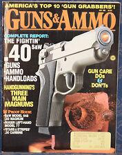 Magazine GUNS & AMMO July 1991 ! SMITH & WESSON Model 648 .22 Magnum REVOLVER !