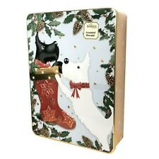 Brambles Scotty Dog Stocking Tin With Assorted Biscuits Gift Stocking Filler