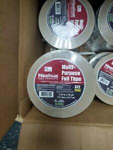 Nashua 322 Multi-purpose Foil Tape 72mm X 46m 1087629