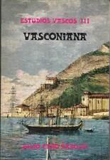 Vasconiana. Estudios Vascos III - Julio Caro Baroja