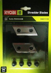 RYOBI Shredder Wood Chipper Replacement Spare Blades RSH2445B ACC030 RAC1110