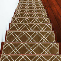 Stair Treads Vintage Collection Contemporary and Soft Stair Tread Pack of 4/7/13