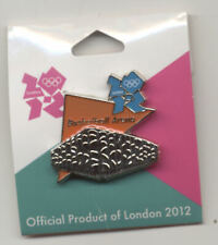 London 2012 Olympics Venue Basketball Arena Pin