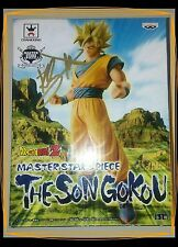 Banpresto Dragon Ball Z Master Stars Piece The Son  Goku Signed By Kirby Morrow