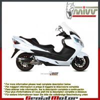Scarico Completo MIVV Urban Acciaio inox per Suzuki Burgman 400 2007 07