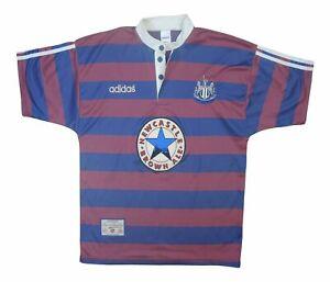 Newcastle United 1995-96 Original Away Shirt (Excellent) L Soccer Jersey