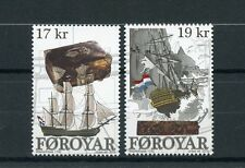 Faroe Islands 2016 MNH Westerbeek Wreck 2v Set Ships Boats Shipwrecks Stamps