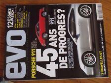 $$$ Revue evo N°32 Porsche 911Maserati Granturismo SKTW X-BowLandia Delta