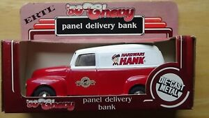 ERTL Hardware Hank '50 Chevy Panel Delivery Bank NEW in Box