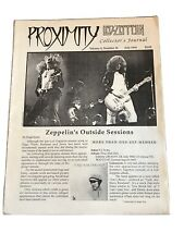 Proximity Led Zeppelin Collectors Journal Vol 4 No 10 July 1993