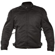 Xelement CF2157 Black Mesh Motorcycle Jacket with Level-3 Advanced Armor Men 3XL