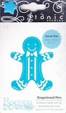 Stanz-/Prägeschablone Rococo petite Gingerbread man Lebkuchenmann Tonic 1011E